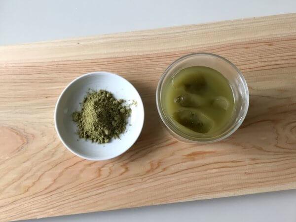 \今注目の食品新素材/業界初、食用「杉」パウダー入りの粉末茶『おがっティー®』!見て触れて香りを感じて、未来の食品の可能性を探るイベントを開催!の画像