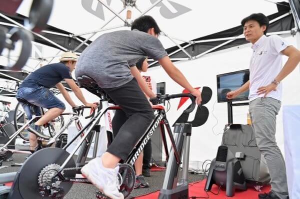 静岡県の東京2020オリンピック1年前イベントに企画協力~ゴール地点に集まった1,200人へ自転車競技の魅力を伝える~の画像