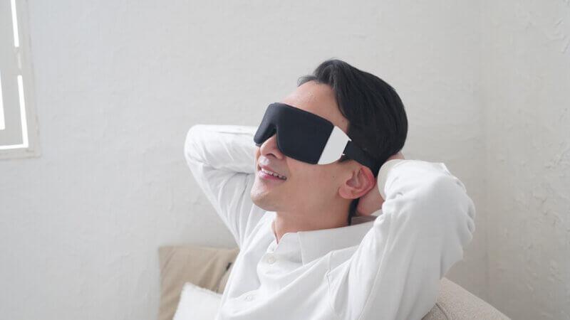 特許取得のUSB式温熱アイマスク iBcare   クラウドファンディングサイトで先行発売の画像