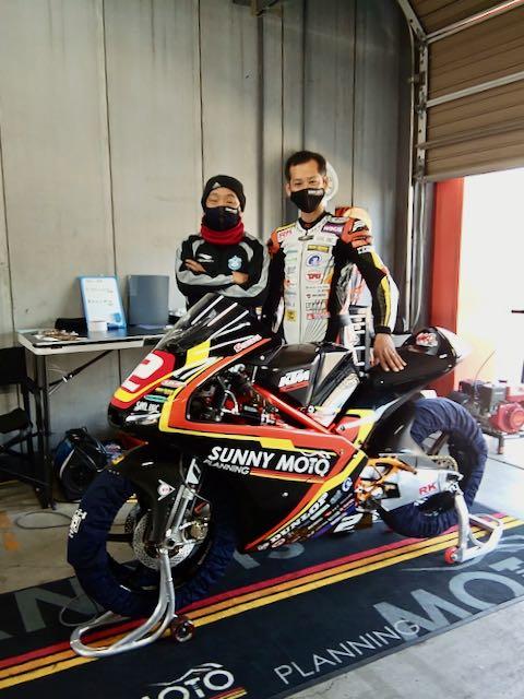 レース未経験者で立ち上げたチームで最後の全日本チャンピオンを目指すの画像