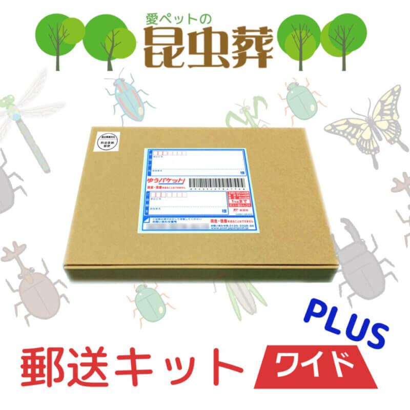 複数の昆虫の供養「昆虫葬郵送キットワイド」の提供開始の画像